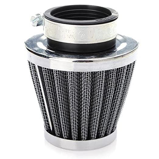 Amazon.com: ESUPPORT 48mm Mini Blue Cone Cold Air Intake Filter Turbo Vent Clean Fresh Car Motorcycle: Automotive
