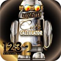 RoboCalc HD+ My First Cute Talking Robot Calculator - Halloween Gift Idea (KINDLE Fire HD Compatible)