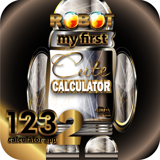 RoboCalc HD+ My First Cute Talking Robot Calculator - Halloween Gift Idea (KINDLE Fire HD Compatible) ()
