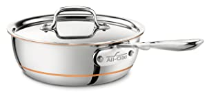 All-Clad 8700800294 Saucier Pan 2-Quart