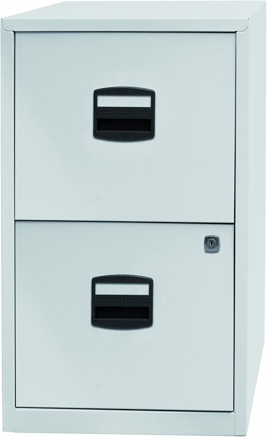 Mobile Lateral Filing Cabinet - Wheels Rolling Filing Cabinet, Printer Stand with Open Storage Shelves for Office and Home (White-bt)