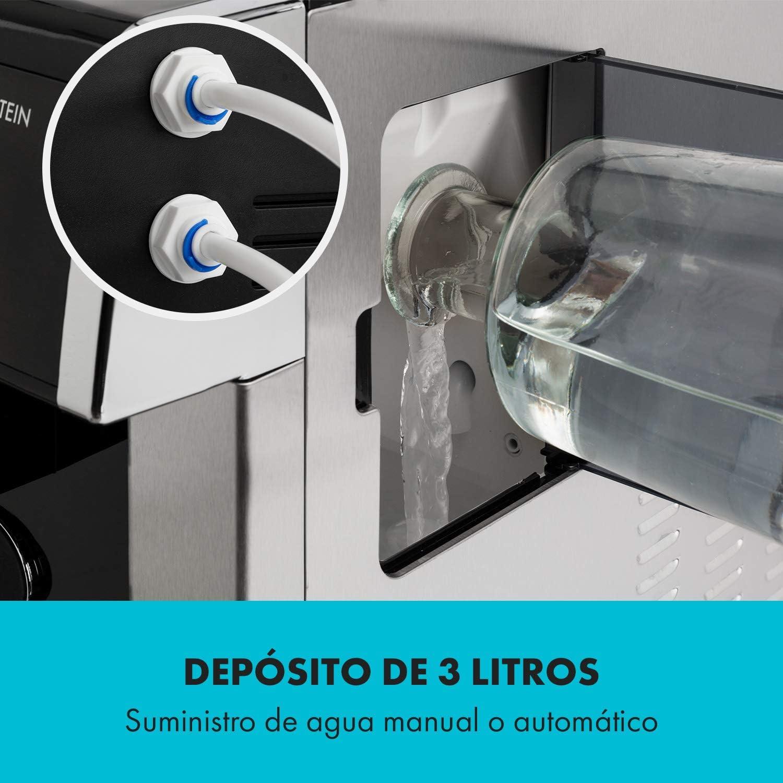 Klarstein Eiszeit Silver Edition - Máquina de cubitos de hielo, 3 ...