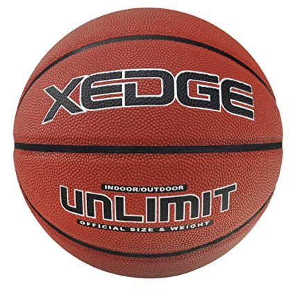 6a7ce671e1d XEDGE Basketballs Official Size 7 29.5 Inches Composite Leather Street  Basketball Indoor Outdoor Game Balls