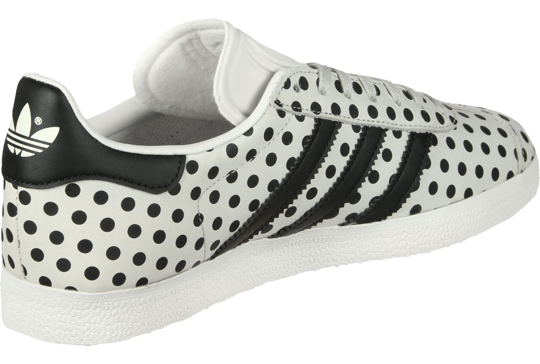 adidas Damen Gazelle Sneakers  42 2/3 EU|Wei? (Balcri / Negbás / Ftwbla 000)