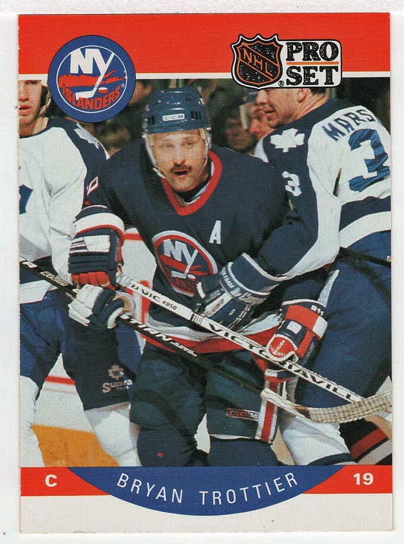 Bryan Trottier (Hockey Card) 1990-91 Pro Set # 192 NM/MT