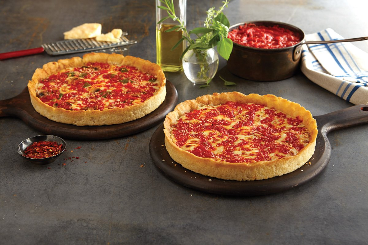 2 Lou Malnati's Chicago-style Deep Dish Pizzas (1 Sausage & 1 Pepperoni) by Lou Malnati's