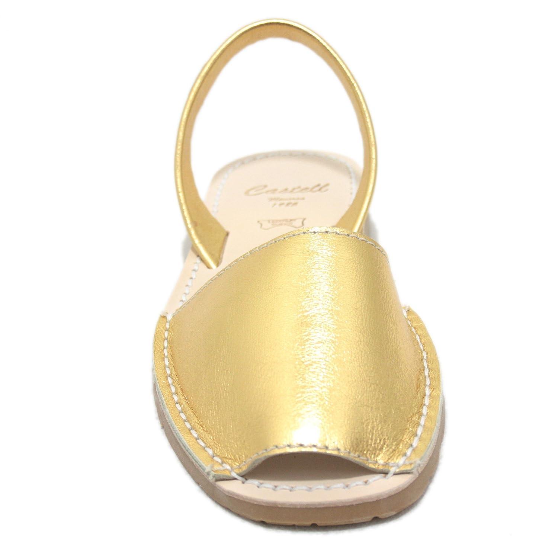 Castell , , , Damen Sandalen Gold 22b02c