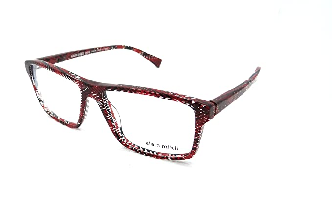 13d5b8ef83 Amazon.com  Alain Mikli Rx Eyeglasses Frames A03065 4110 56x15 ...