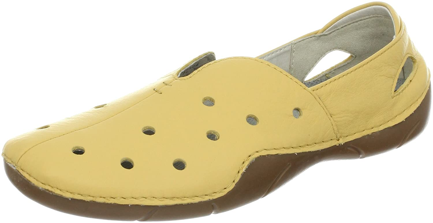 Propet Women's Robin Slip-On,Maize,8.5 2E US