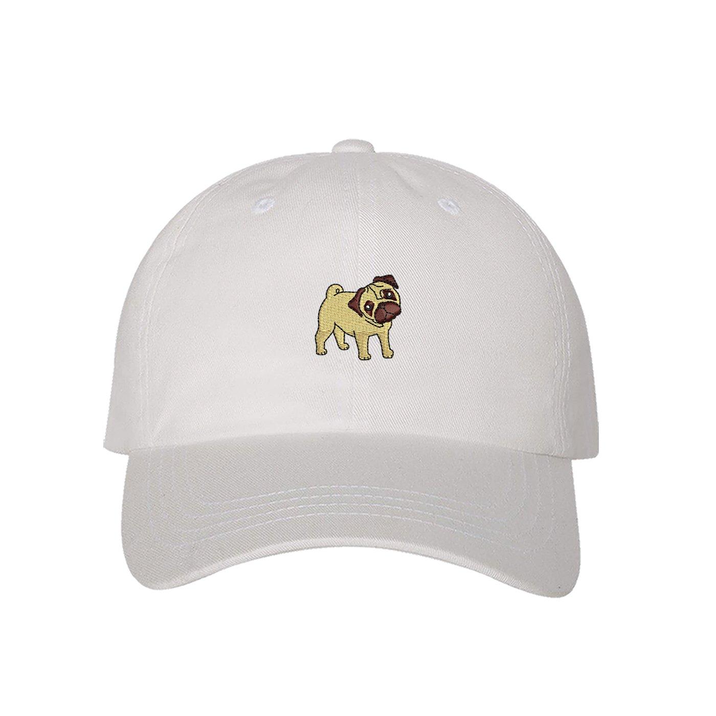 f548be916fc Amazon.com  Prfcto Lifestyle Pug Dad Hat -Black Baseball Cap- Unisex   Clothing