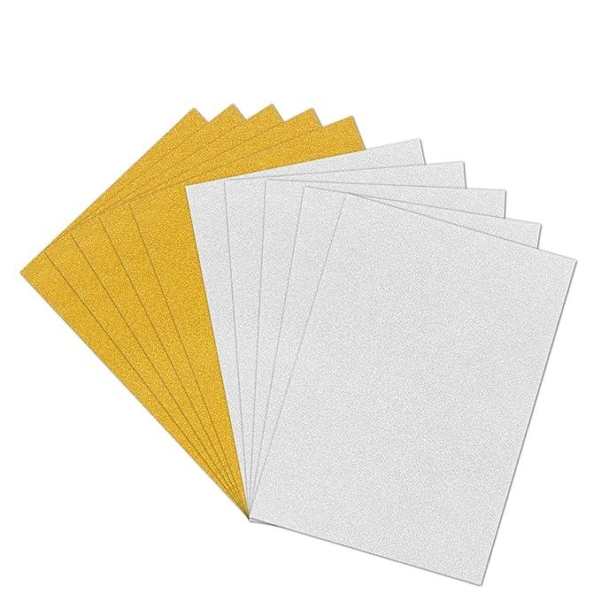 Rosenice 10 Pcs Paillettes Paillettes De Cartes De Visite Papier