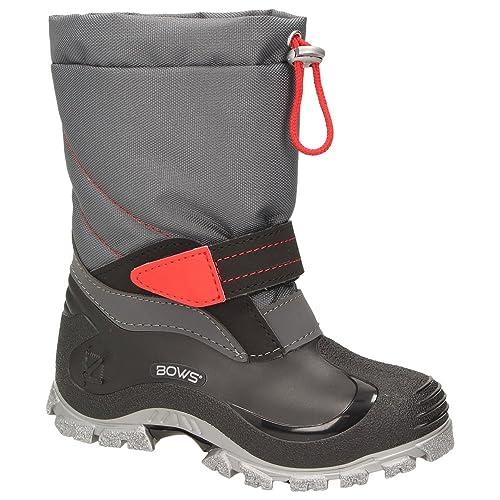 d66835ecb182c6 BOWS® -BEO- Unisex Kinder Schnee Stiefel Winter Schuhe Mädchen Jungen  Stiefel wärmend wasserabweisend