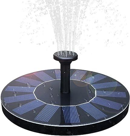Solar Brushless Water Pump Garden Pool Fountain Pond Submersible Panel Kit UK