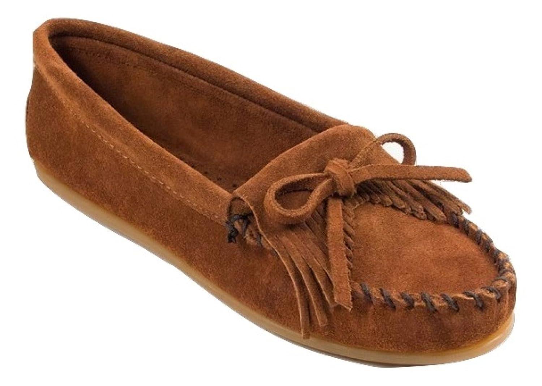 d8dbd810fa5 Minnetonka Moccasins Handmade 402 Women s Kilty Hardsole Brown Suede (Ladies  UK 5 EU 38)  Amazon.co.uk  Shoes   Bags