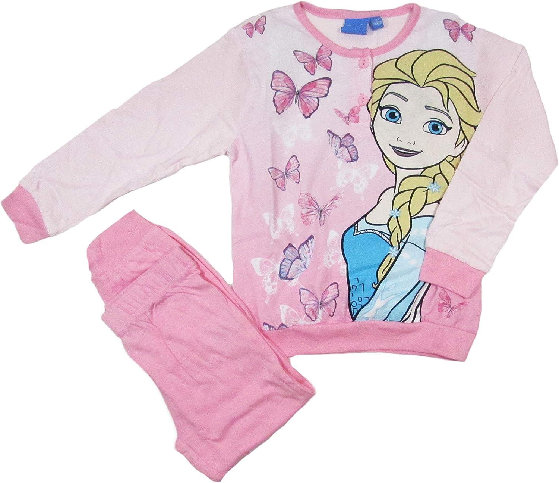 OFFICIAL Disney congelato Pigiama con Elsa Anna /& Olaf età TG 3 a 10 anni