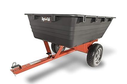 Amazon.com: Agri-Fab Poly detrás de Dump carro de remolque ...