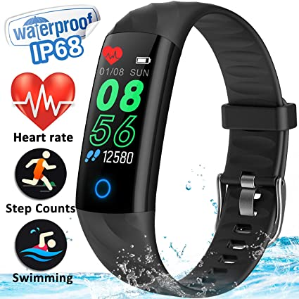 Gbd Fitness Tracker Smart Watch With Pedometer Heart Rate Blood