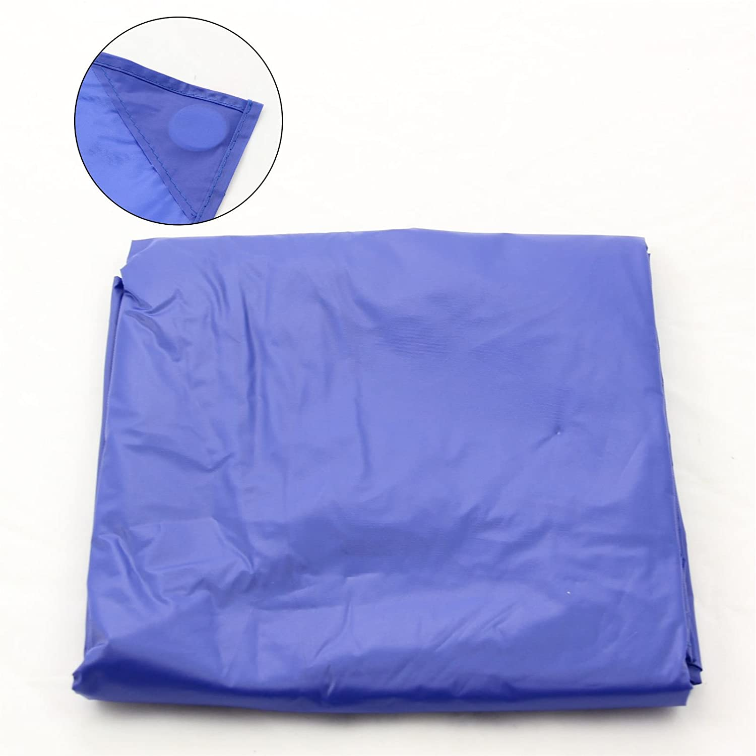 7FT BLUE NYLON WEIGHTED POOL OR SNOOKER TABLE COVER by Funky Chalk