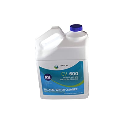 Orenda CV-600 Catalytic Enzyme Water Cleaner - 1 Gallon : Swimming Pool Enzymes : Garden & Outdoor
