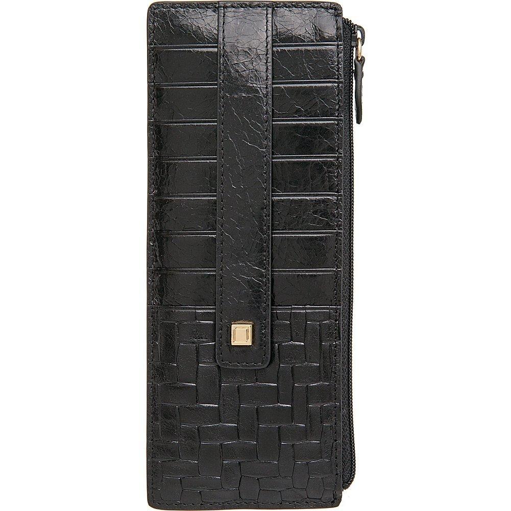 Lodis AccessoriesレディースPalmaクレジットカードケースW /ジッパーポケット  ブラック B019PY9UJS