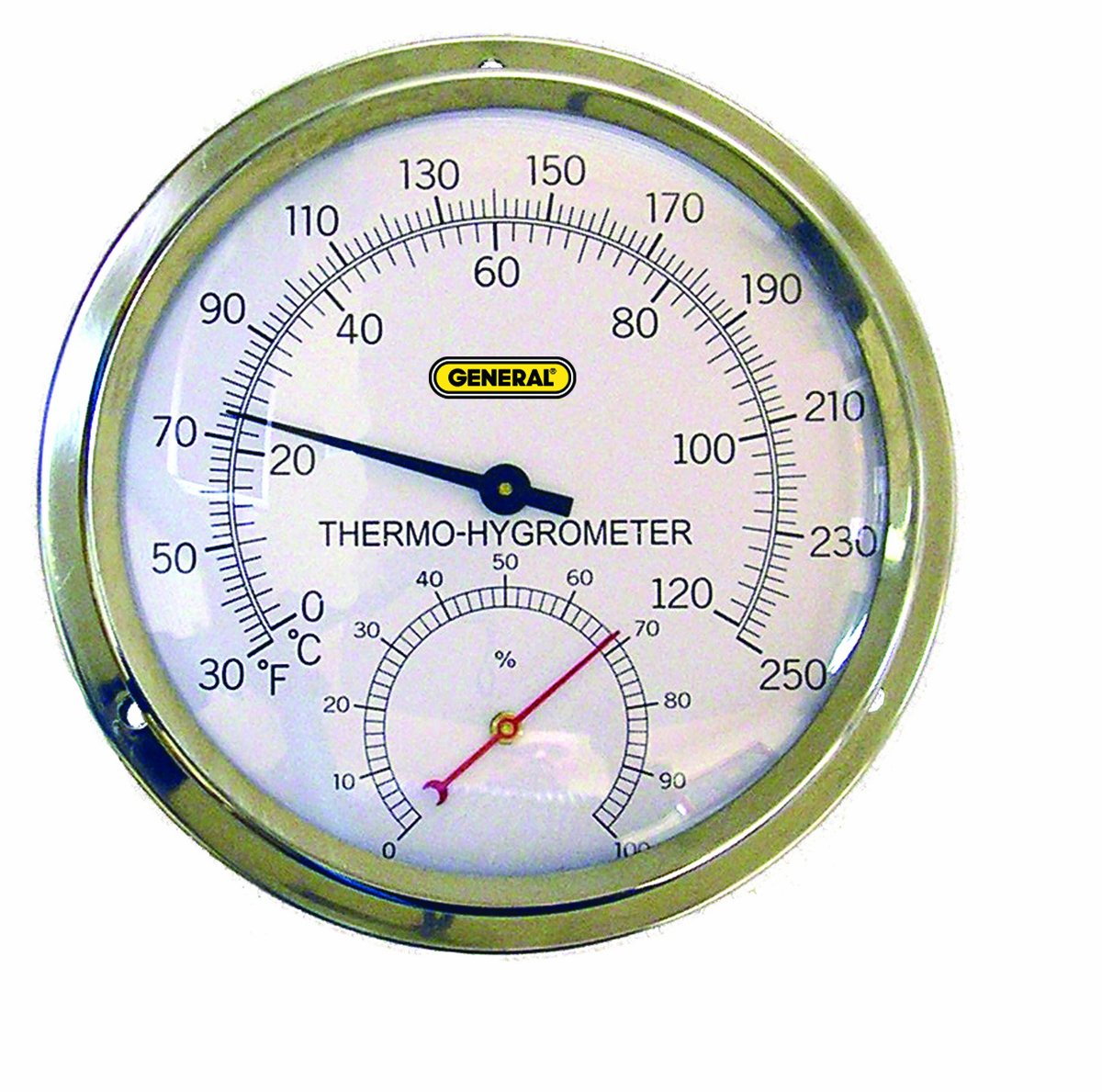 General Tools High Temperature Analog Thermo-Hygrometer (A600FC)