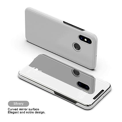 Amazon com: Huawei Honor Note10 Flip Case, Portable Smart Mirror