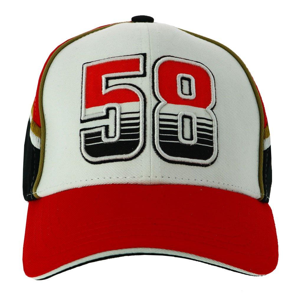 Marco Simoncelli 58 Moto GP Baseball Gorra Logo Oficial 2018 ...
