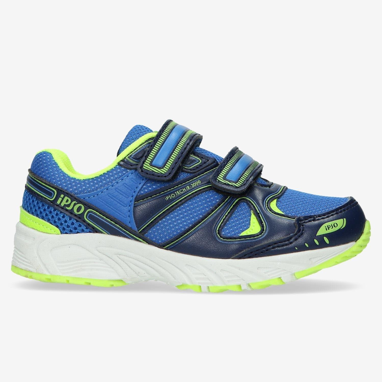 Zapatillas Running IPSO TECH 3000 Azul Niño (22-27) (Talla: 25): Amazon.es: Deportes y aire libre