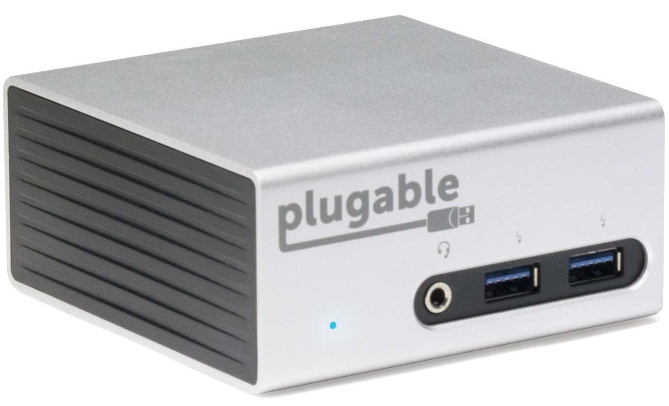 Plugable Universal USB 3.0 Docking Station with Dual Video Outputs and 4K Support for Windows 10, 8.1, 7 (HDMI & DVI/VGA, Gigabit Ethernet, Audio, 4 USB 3.0 Ports, VESA mount Aluminum Mini) by Plugable (Image #6)
