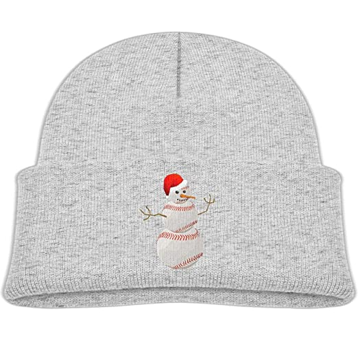 f30475a4 Amazon.com: Beanie Cap Christmas Snowman Ball Warm Knit Hat Baby Girls:  Clothing