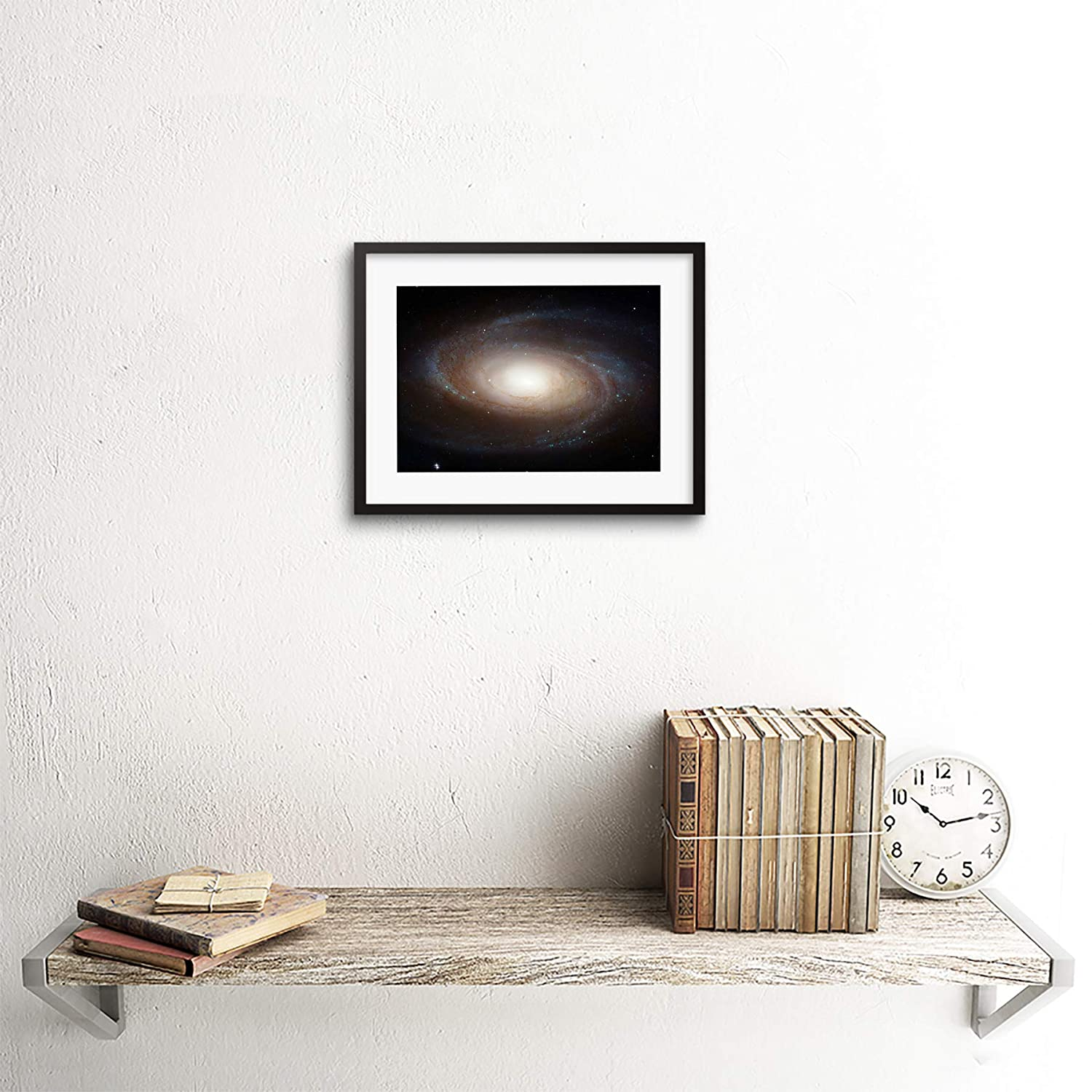 The Art Stop Space Photo Hubble Grand Spiral Galaxy Framed Print F97X3666