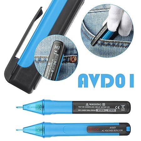 Eachbid AVD01 - Detector de tensión de bolígrafo eléctrico ...
