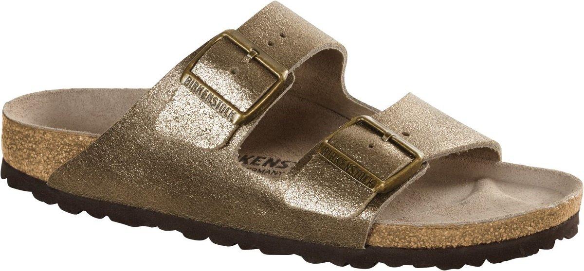 8b0e133e967c Galleon - Birkenstock Women s Arizona Sandal Washed Metallic Antique Gold  Leather Size 36 N EU
