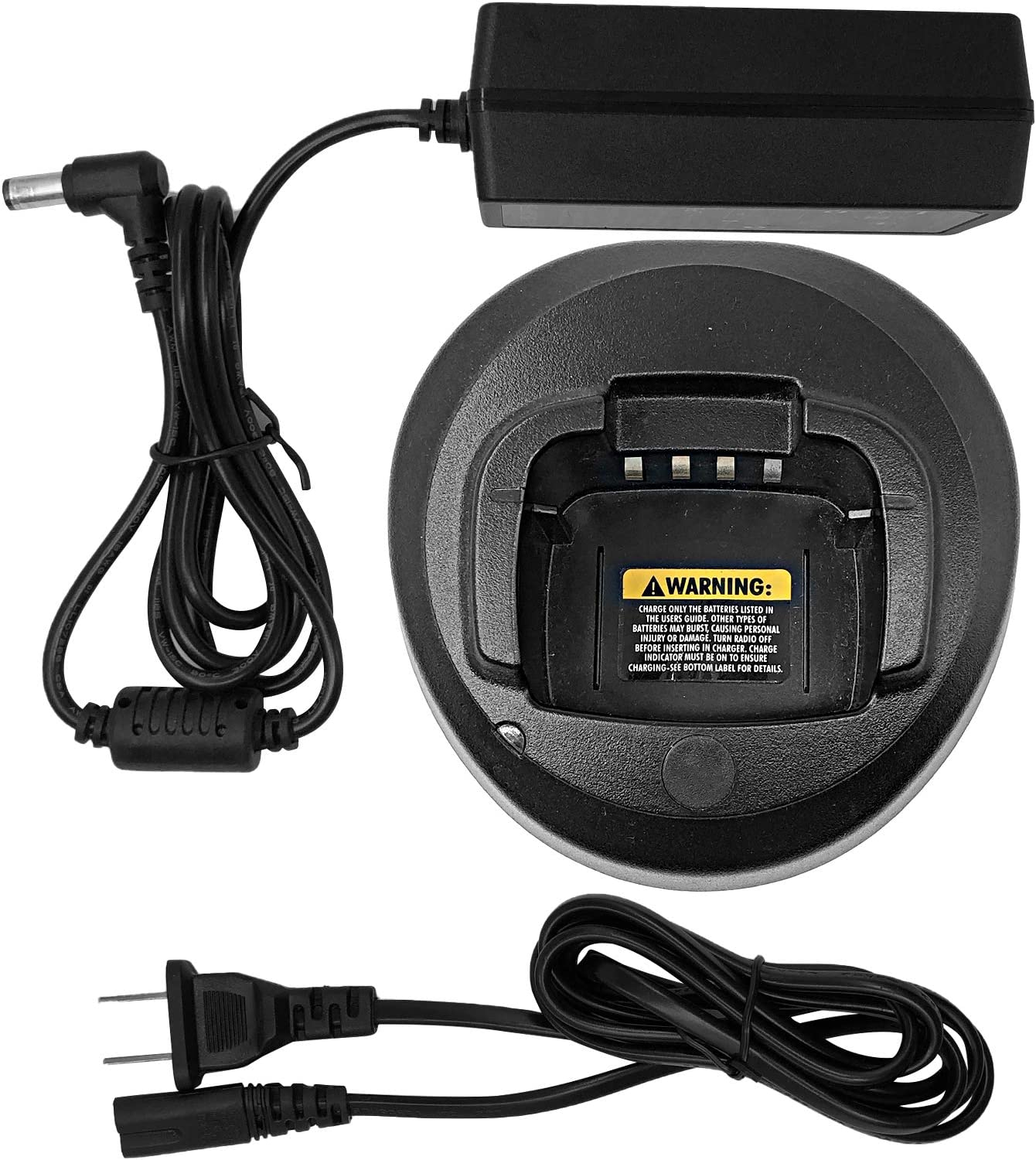 PMLN5228 Li-ion Batteries Rapid Charger for Motorola Radios CP185 EP350