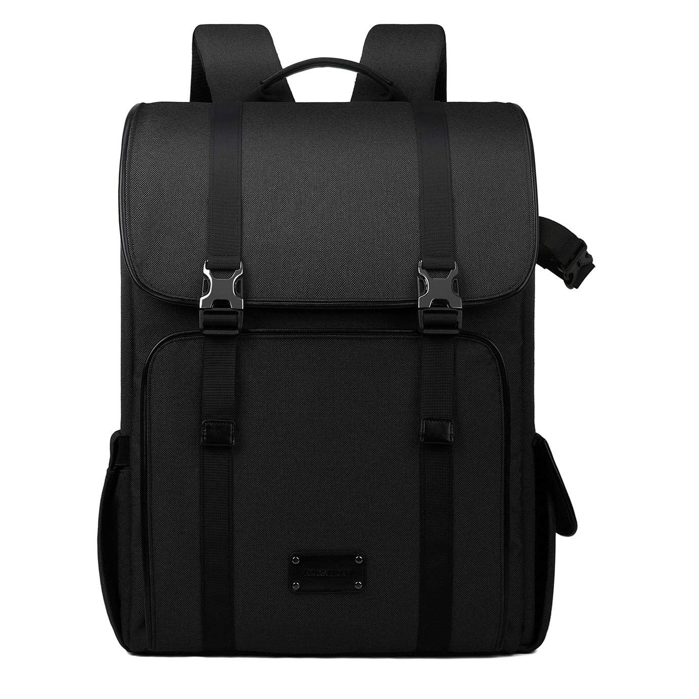 BAGSMART Camera Backpack DSLR Large Camera Bag Rucksack for 70-200mm Lens & 15.6' Laptop with Waterproof Rain Cover & Tripod Holder