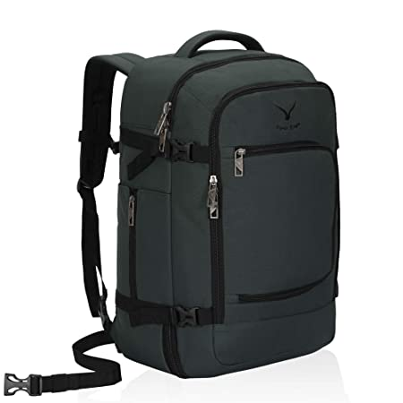 Hynes Eagle Travel Backpack 40 L Flight Approved Carry On Backpack Grey 2018 by Hynes Eagle