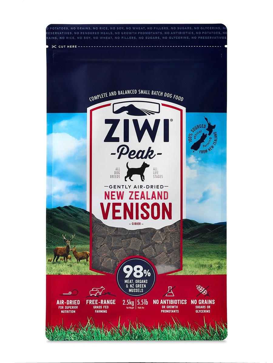 ZiwiPeak(ジウィピーク) エアドライドッグフード ベニソン 2.5kg B00EPPUJNE