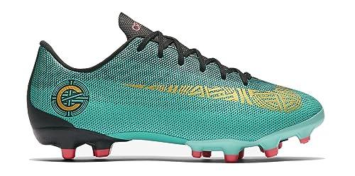 Nike Jr. Mercurial Vapor XII Academy Cr7 MG, Zapatillas de Fútbol Unisex Niños, Turquesa (Clear Jade/Mtlc VIVI 390), 35.5 EU: Amazon.es: Zapatos y ...