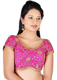 f480ef02607091 Sudarshan Silks VAMAS Latest Designer Ready Made BLOUSE-Pink-VDBMx486slp-VM -N