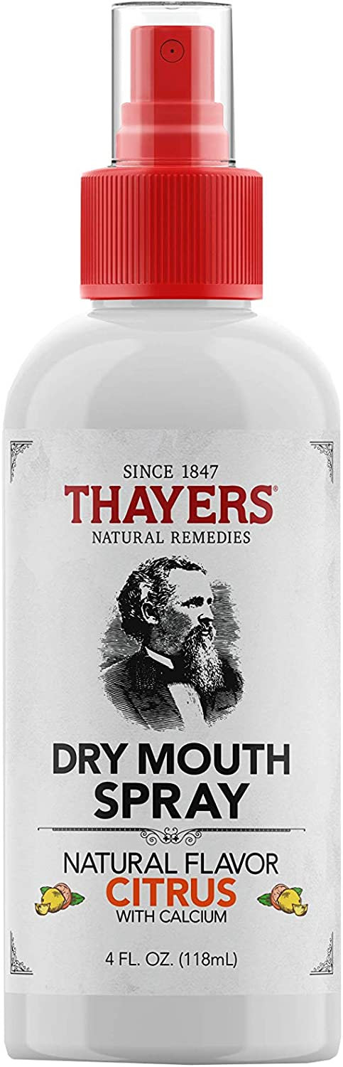 Thayers Sugar-Free Dry Mouth Spray, Citrus, 4 Fluid Ounce: Health & Personal Care