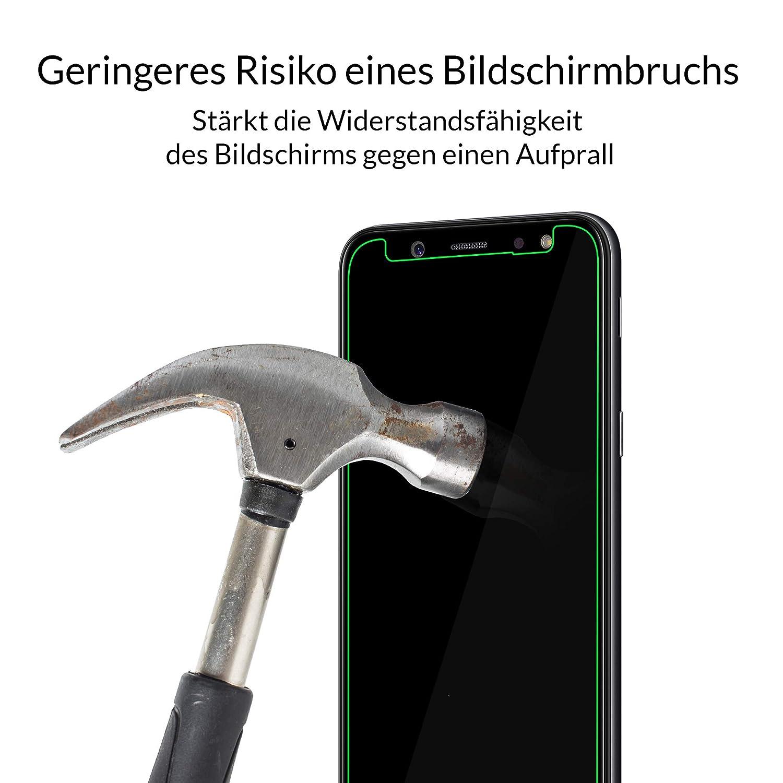 Likano 3mk Hardglass für Samsung Galaxy A6 2018: Amazon.de: Elektronik