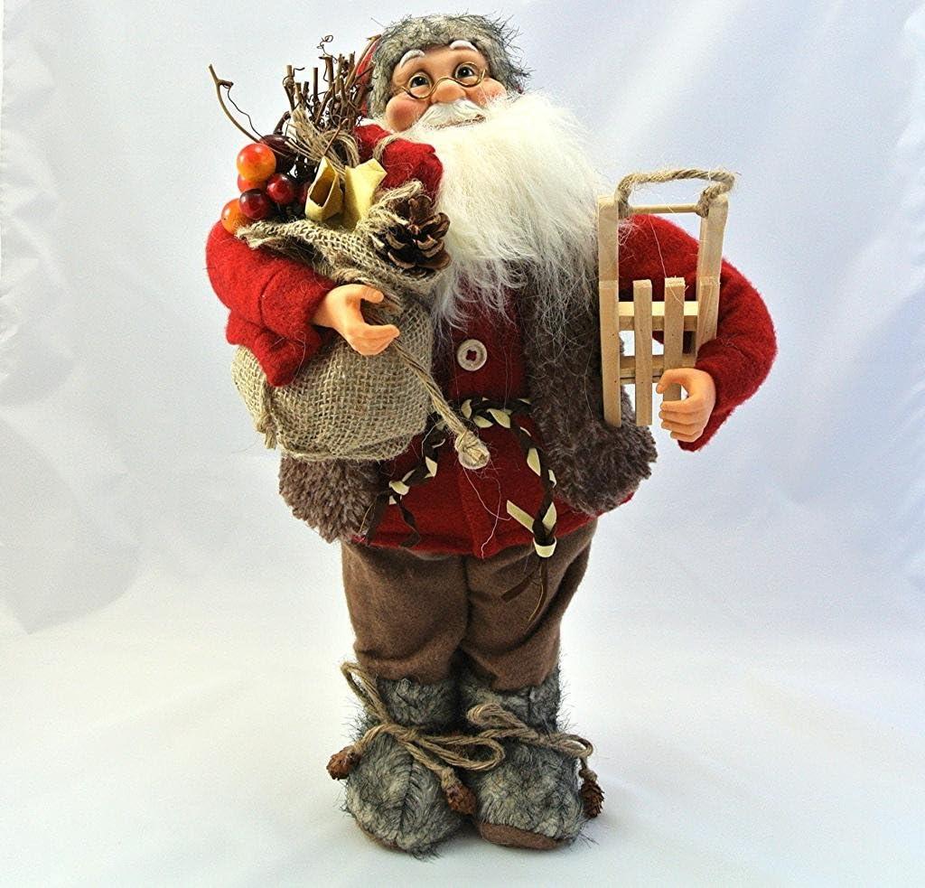 Large Plush Santa Figure 50cm