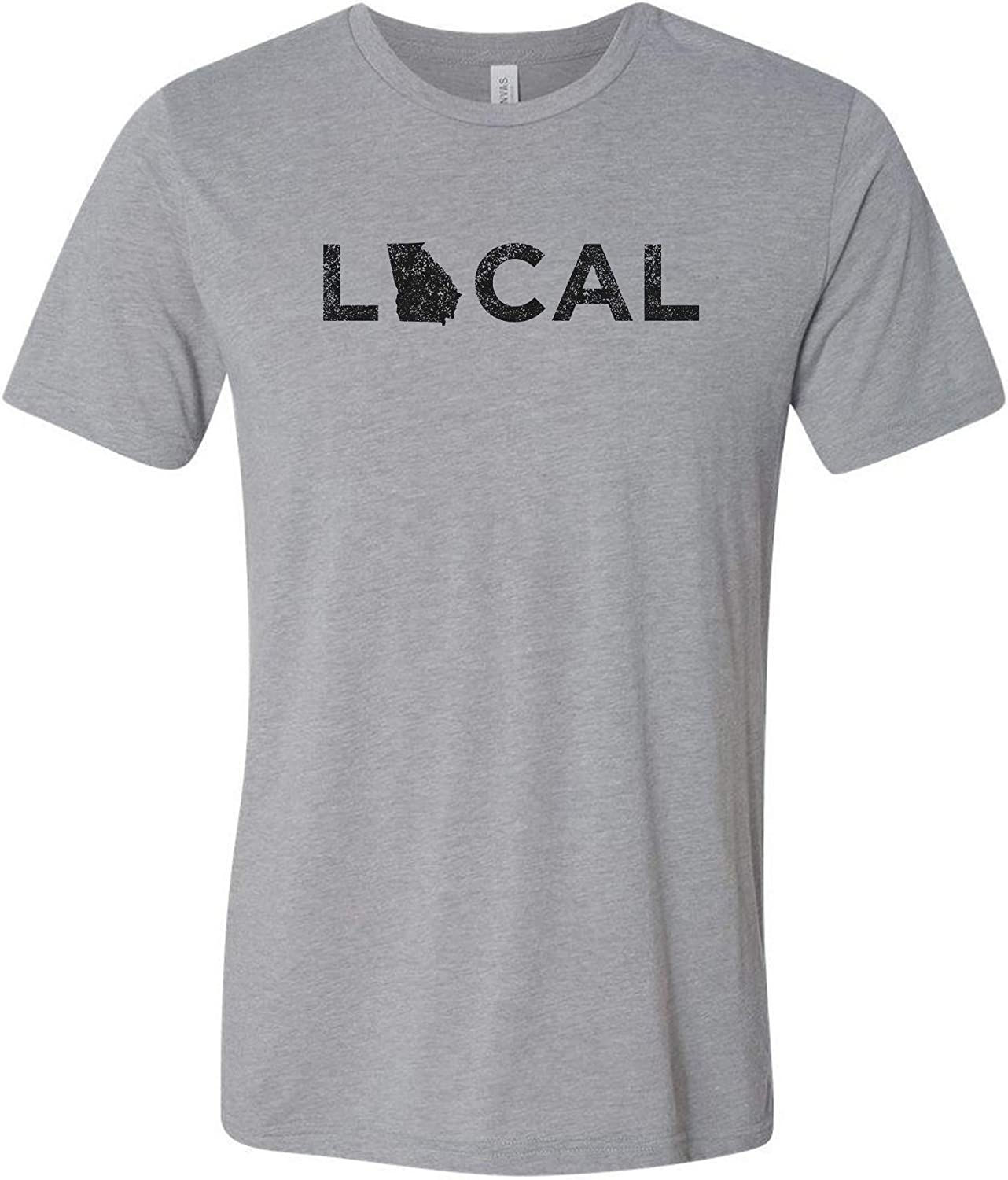 Local - USA Home State Pride Canvas Triblend T Shirt