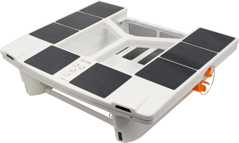 Skimdevil Robotic Solar Pool Surface Cleaner - (Best for Leaves)
