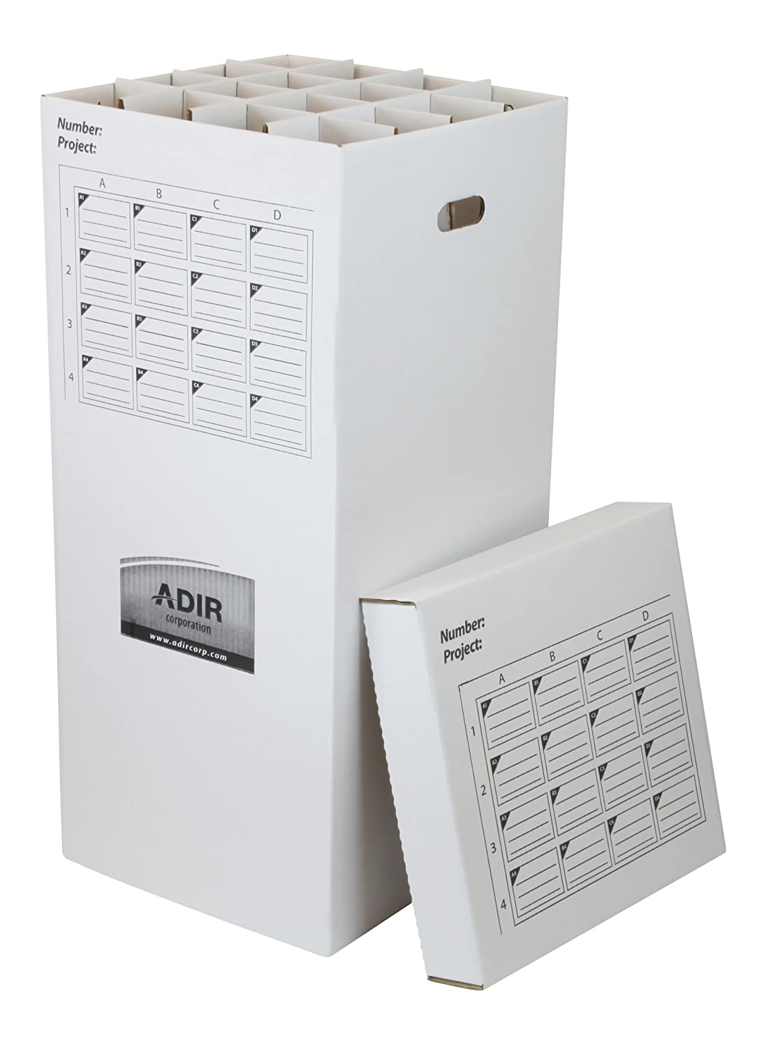 Amazon adir corrugated cardboard 16 roll file for rolls up to amazon adir corrugated cardboard 16 roll file for rolls up to 37 inches long upright storage cabinet kitchen dining malvernweather Image collections