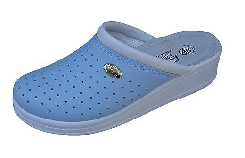 SANITAL LIGTH Zapatillas Da Estar por casa Mujer In Piel 1250: Amazon.es: Zapatos y complementos