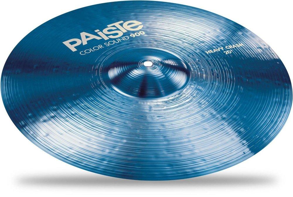PAiSTE 20″  900 B06Y6FYXT9 Heavy BLUE Crash Sound 20インチ (パイステ) ヘビークラッシュシンバル  Color Series