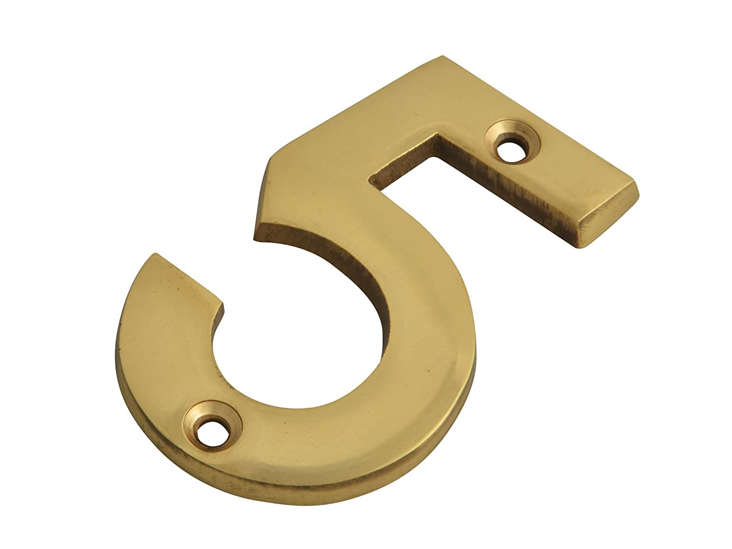 Forge 75mm Numeral No.7 with Brass Finish