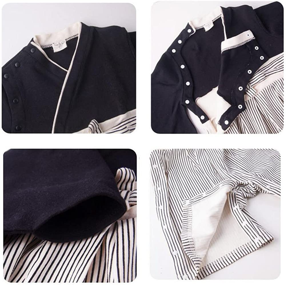 Meijunter B/éb/é Gar/çons Jumpsuits Hakama Style Kimono Romper Pantalons Bambin Badysuits Hiver Automne Manteau V/êtements Coverall Tenues