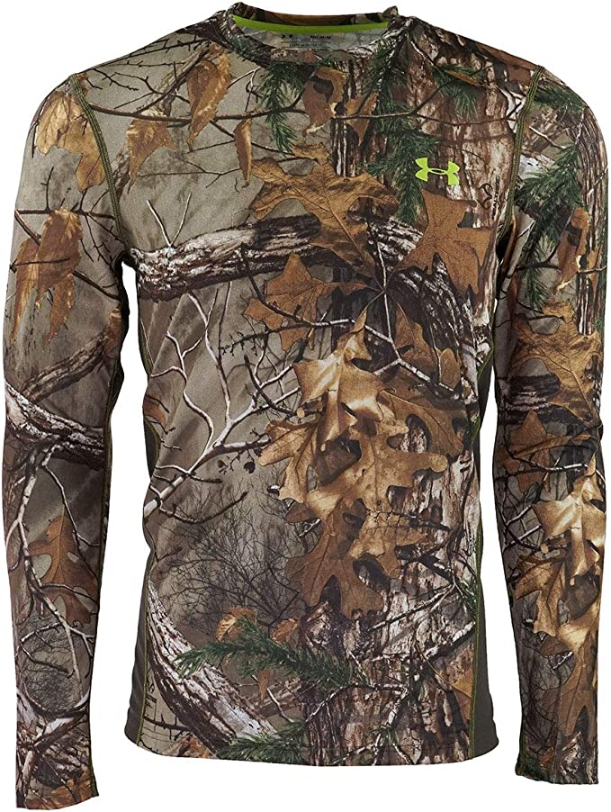 AP Realtree Youth T-shirt With Camouflage Long Sleeves Hunting Outdoors